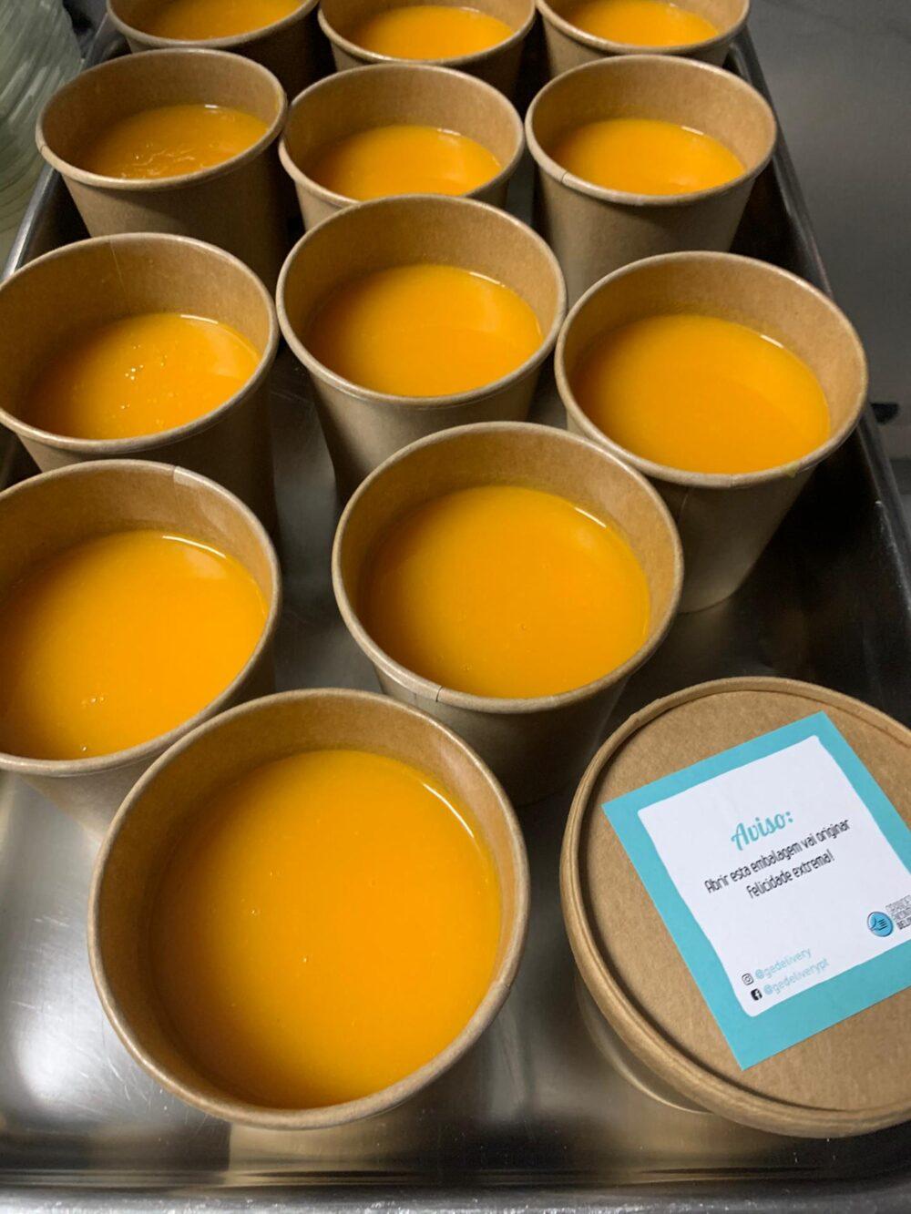 Embalagens Biodegradáveis com Sopa