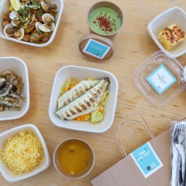 Várias Receitas em Embalagens Biodegradáveis